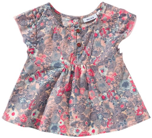 Mexx Baby - Mädchen Bluse K1GZB001, Gr. 68 (L), Blau (404)