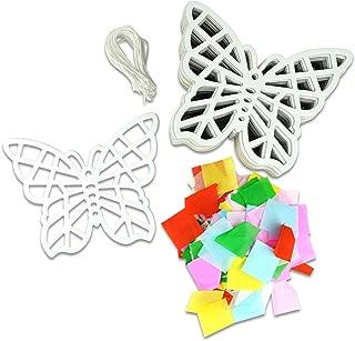 Kipp Brothers 24 Pack DIY Suncatcher Tissue Paper Crafts - Butterfly