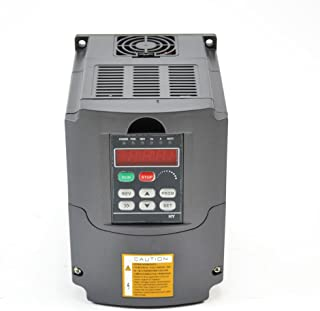 CNC 4KW 4000w 220V 5HP Variable Frequency Drive Inverter VFD for Spindle Motor Speed Control