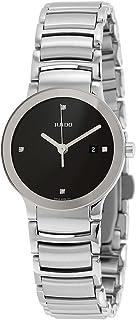 Rado Women's Black Dial Stainless Steel Band Watch - R30928713
