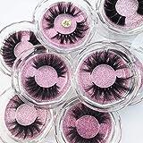 3D Mink Eyelashes New 10 Styles 5D Luxurious False Lashes 100% Siberian 3D Mink Fur Eyelashes Handmade Natural Look Face Eyelashes Fake Eyelashes Lot