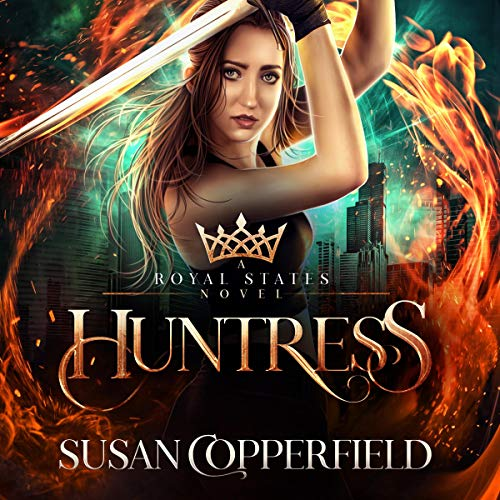 Huntress  By  cover art