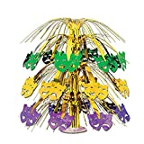 Mardi Gras Cascade Centerpiece Party Accessory (1 count) (1/Pkg)