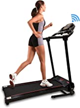 SereneLife Smart Digital Folding Exercise Machine – Electric Motorized Treadmill..