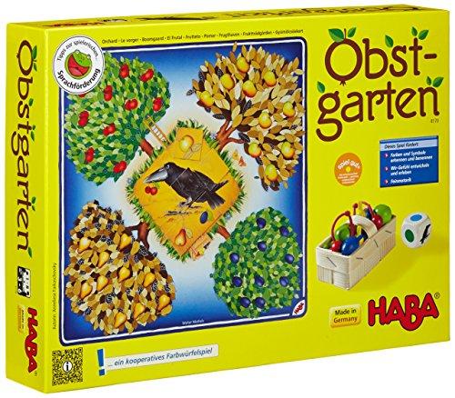 Obstgarten Spannendes Würfelspiel