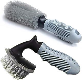 قلم مو تمیز کننده چرخ و فولاد آلیاژی و بسته بندی لکچین ، پاک کننده لبه برای ماشین ، موتور سیکلت یا ابزار شستشوی لاستیک دوچرخه