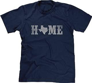 Mens T-Shirt Home Texas State O