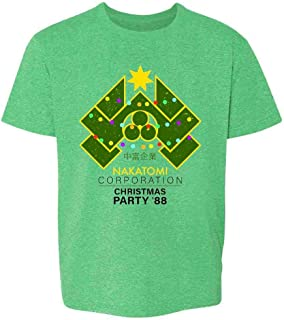 Pop Threads Nakatomi Plaza 1988 Christmas Party Costume Toddler Kids Girl Boy T-Shirt