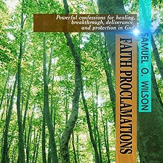 Faith Proclamations audiobook cover art