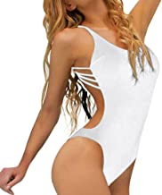 Amanod 2018 popular hot saleWomen One-Piece Swimsuit Bandage Bikini Push-up Padded Backless Bathing Swimwear