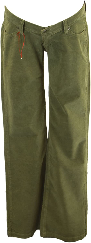 Elly B by OLIAN Maternity Women's Corduroy Straight Leg Pants CP18348