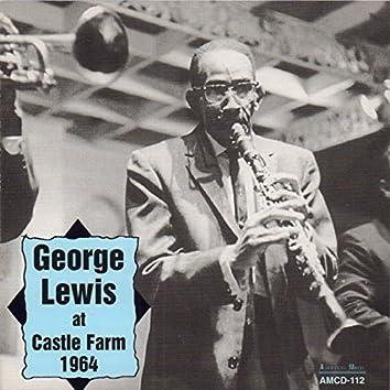 George Lewis at Castle Farm 1964