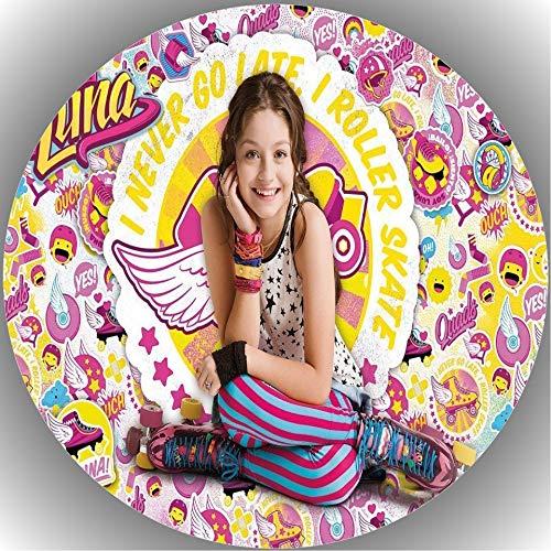 Decoración para tarta de cumpleaños Soy Luna L3