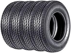 Set of 4 ST 205/75R15 Trailer Tires New Premium Radial 205 75R15 Trailer Tires 8PR Load Range D