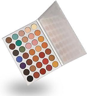 35 Colors Eyeshadow Palette, Yeefant Makeup Shimmer Glitter Eye Shadow Matte Cosmetic Powder Palette Eyeshadow Organizer Make Up Palettes