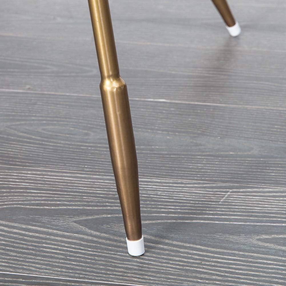 HURONG168 Chaises de cuisine Chaise nordique dinant la chaise en fer forgé moderne minimaliste personnalité décontractée paresseux maison chaise siège lounge (Couleur : Bleu) Rose