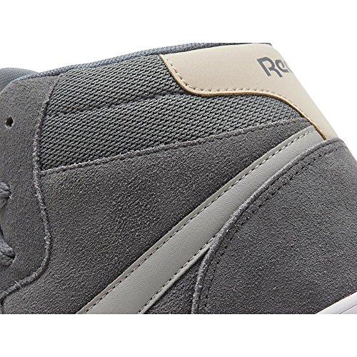 Reebok Royal Complete 2Ms, Zapatillas de Tenis para Hombre, Gris (Ccl/Alloy/Stark Grey/Stucco/White/Silver 000), 42.5 EU