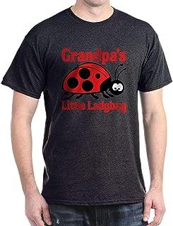 Ladybug Grandpa Dark T Shirt Cotton T-Shirt
