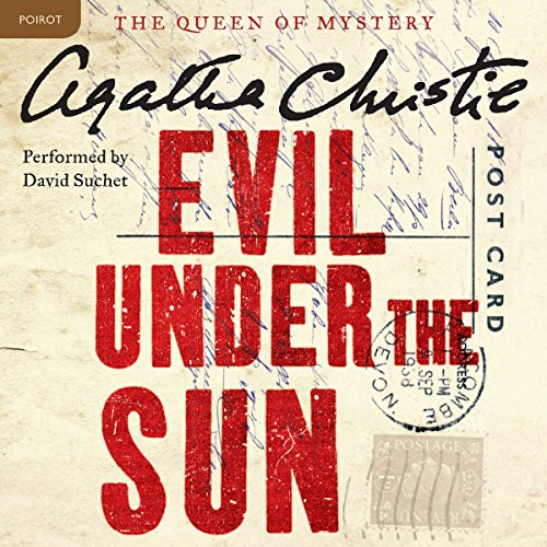 Evil Under the Sun audiobook cover art