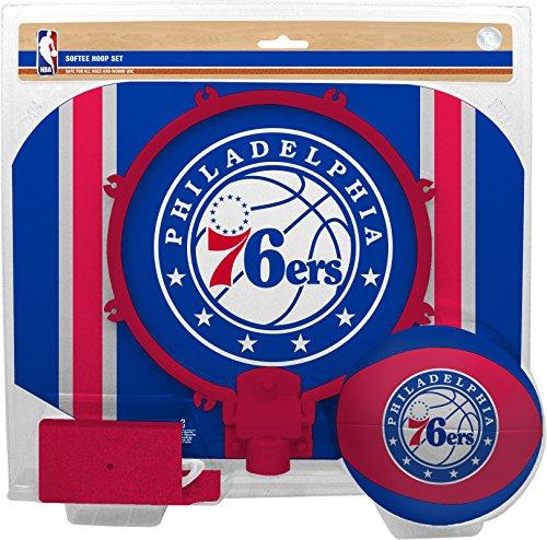 NBA Philadelphia 76ers Slam Dunk Softee Hoop Set