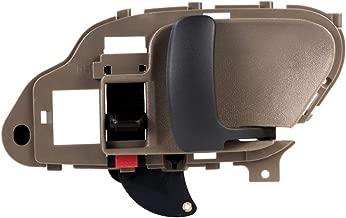 MYSMOT Beige Interior Front or Rear Right Door Handle RH Side For 1995 1996 1997 1998 1999 2000 2001 2002 Chevrolet GMC C1500 C2500 C3500 K1500 K2500 K3500 Pickup Suburban Chevy Tahoe 15708052,6077571