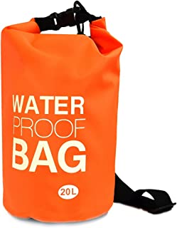 NuPouch Waterproof Dry Bag for Camping, Beach, Kayaking, Boating & outdoor Activities,