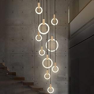 Vintage Holzlampen für den Flur /& offene Galerie Flurbeleuchtung Treppenhaus