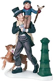 Department 56 Dickens A Christmas Carol Bob Cratchit And Tiny Tim Accessory Figurine