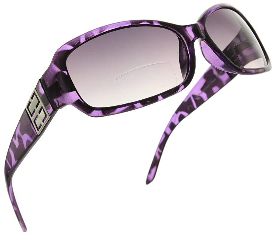 Fiore Bifocal Rectangle Reading Sunglasses Readers for Women