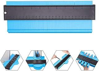 Contour Gauge Duplicator 10 Inch Plastic Profile Copy Gauge Contour Gauge Duplicator Standard Wood Shaping Measure Ruler Tiling Laminate Tiles Tools by YMHB
