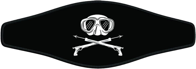 Innovative Scuba Opening large release sale Mask Spear Gun Strap supreme Black Wrapper