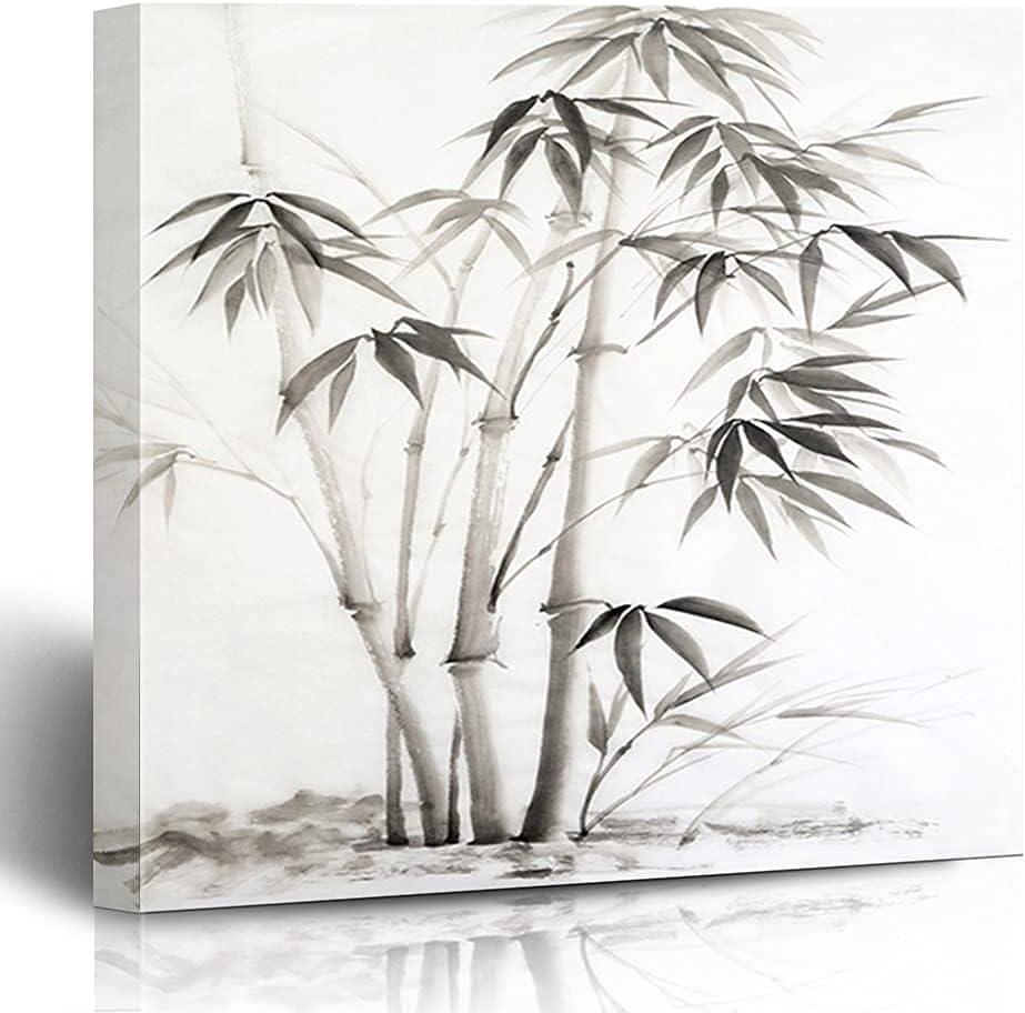 GANG Luxury Canvas Prints Max 45% OFF Korean Bamboo Chinese Calligraphy Tradi Asian