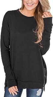 Eternatastic Womens Hoodies Long Sleeve Drawstring Sweatshirts Color Block Striped Pullover Top