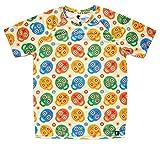 HOOPOE Camiseta de Calaveras Hombre, Manga Corta, Running, Gimnasio #Skully Talla S