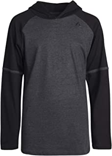 Reebok Boys Lightweight Long Sleeve Pullover Hooded T-Shirt