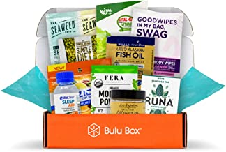 Bulu Box XL - Try Vitamins, Supplements, and Healthy Snacks, for Men and Women, at Least 10 Samples in Every Box