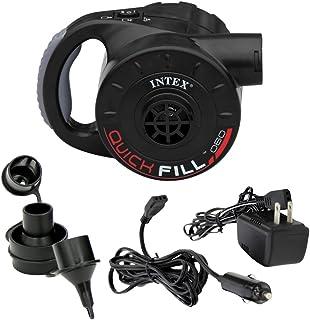 Intex Quick-Fill Rechargeable Air Pump, 110-120 Volt, Max. Air Flow 21.2CFM