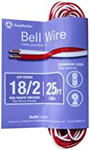 Southwire 64267101 Red/White Bell Wire