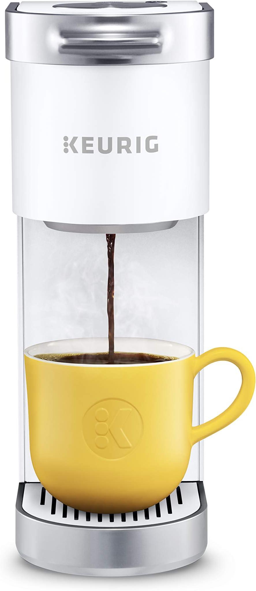 Keurig 611247386125 K-Mini Plus Coffee Maker, One Size, White