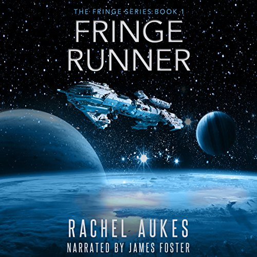 Fringe Runner audiobook cover art
