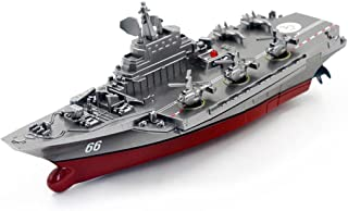 Dacawin(TM) Remote Control Challenger Aircraft Carrier RC Boat Warship Battleship (Black)
