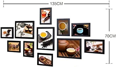 William 337 Tea House Tea Paintings Cultural Photo Wall Combination Restaurant Wall Painting Tea House Fresco