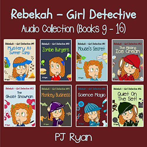Rebekah - Girl Detective Books 9-16: Fun Short Story Mysteries audiobook cover art