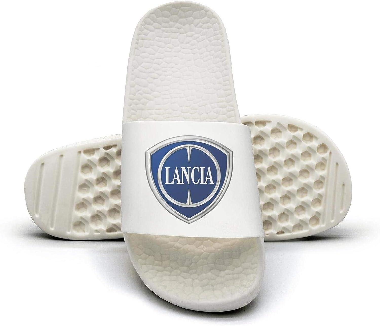 EIGKASL Printed Non-Slip Slippers Slides flip Flop Sandals Lancia-Emblem-Logo-Symbol-Summer Comfortable for Womens