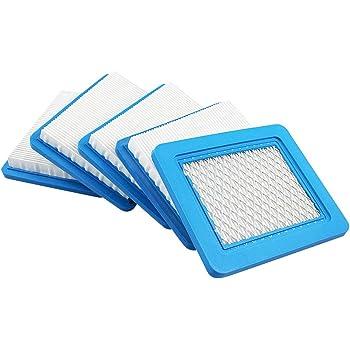 5X Luftfilter für Briggs /& Stratton 491588S 5043B 5043D 399959 3364B S Hl