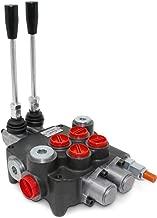 Monoblock Hydraulic Directional Control Valve, 2 Spool, 21 GPM, SAE Ports