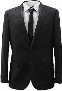 HARRY BROWN Men's Black 2 Piece 2 Button Dinner Suit/Tuxedo 36-48