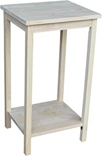 International Concepts OT-42 Portman Accent Table, Unfinished
