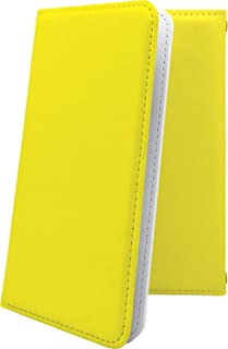 GRANBEAT DP-CMX1(B) ケース 手帳型 黄色 無地 グランビート オンキョー オンキョウ 手帳型ケース イエロー dpcmx1 dp-cmx1 cmx1 黄 きいろ