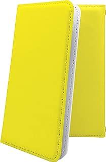 T-01A ケース 手帳型 黄色 無地 アイエス ティー ケース 手帳型ケース イエロー T01A ケース 黄 きいろ